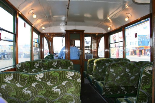 Blackpool Tramway tram 702 at