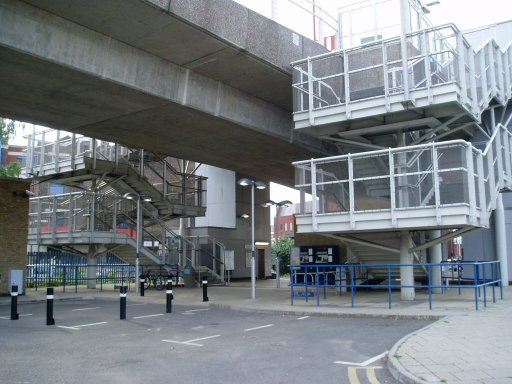 Docklands Light Railway station at Deptford Bridge