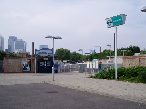 Docklands Light Railway station at Mudchute