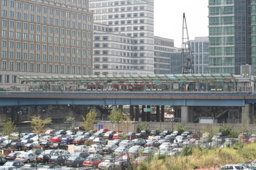 Docklands Light Railway station at West India Quay