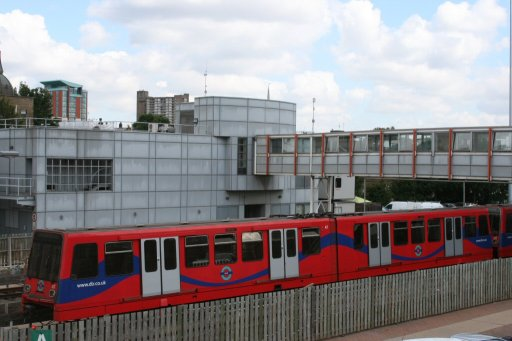 Docklands Light Railway unit 47 at Poplar depot
