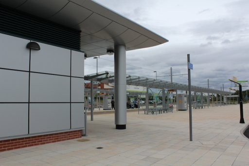 Nottingham Express Transit tram stop at Clifton South