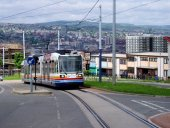 Sheffield's Supertram - link to picture