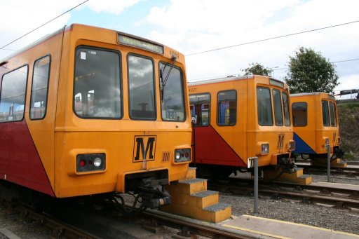 Tyne and Wear Metro unit 4089 at Gosforth depot
