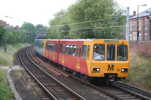 Tyne and Wear Metro unit 4011 at West Jesmond
