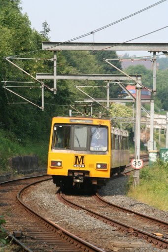 Tyne and Wear Metro unit 4064 at Heworth
