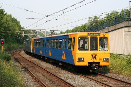 Tyne and Wear Metro unit 4076 at Heworth