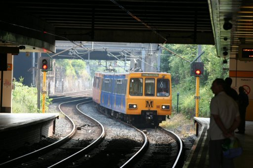 Tyne and Wear Metro unit 4081 at Heworth station