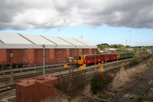 Tyne and Wear Metro Gosforth depot