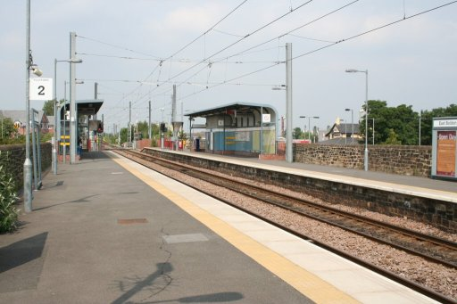 Tyne and Wear Metro station at East Boldon