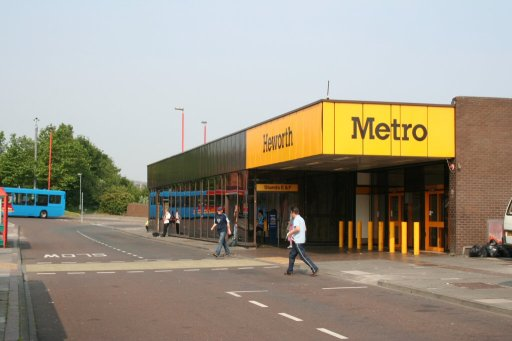Tyne and Wear Metro station at Heworth