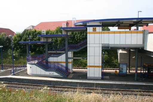 Tyne and Wear Metro station at Northumberland Park