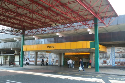 Tyne and Wear Metro station at Regent Centre