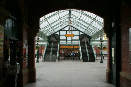 Tyne and Wear Metro station at Tynemouth